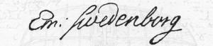 Swedenborg signatur