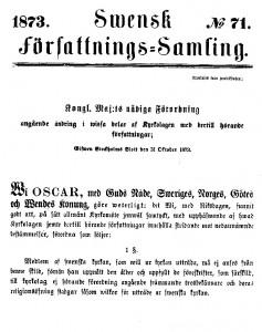 Dissenterlagen från 1873