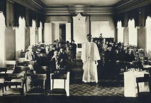 Gudstjänst på Mäster Samuelsgatan 47