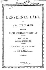 Lefvernesläran - en av Manbys många översättningar
