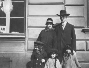David Rundströms med familj