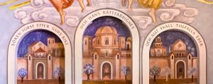 Målningen bakom altaret