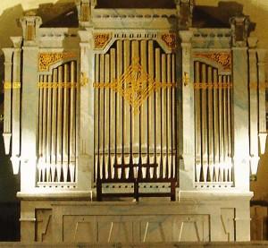 Orgeln i Minneskyrkan