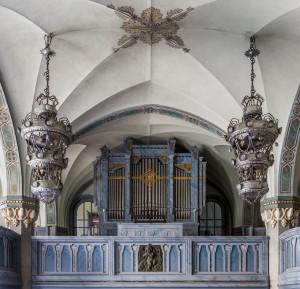 Minneskyrkans orgel