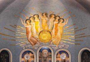 Solen i Swedenborgskyrkan